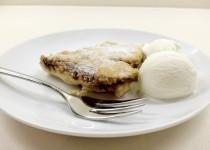 Nekaloringas obuolių pyragas