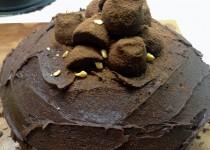 Velniškai šokoladinis tortas