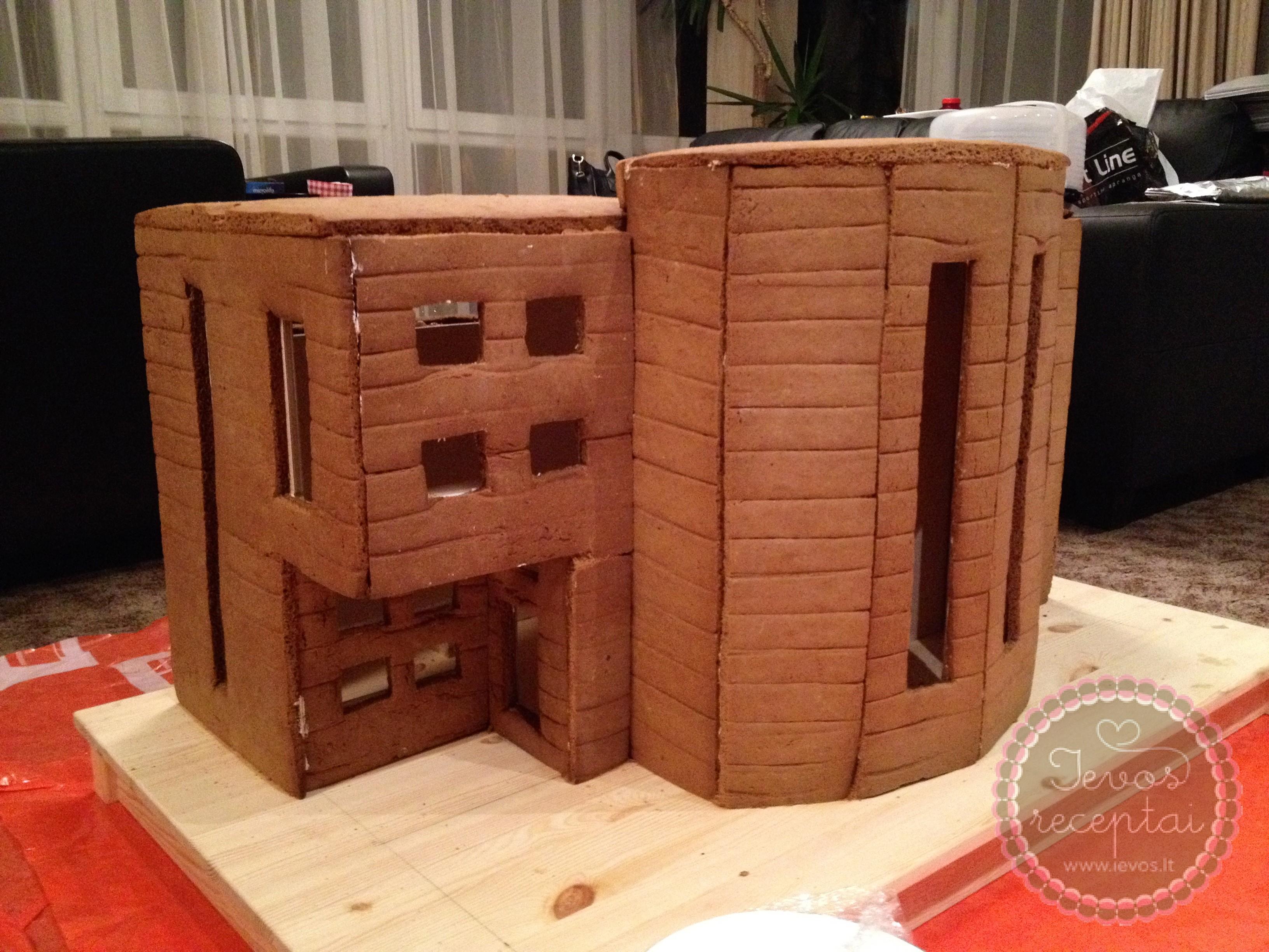 Imbierinio namelio statybos